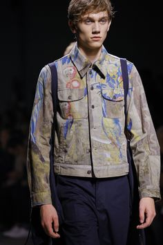 See detail photos for Dries Van Noten Spring 2017 Menswear collection.