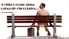 A vida é cheia de surpresas, que por vezes gostamos e outras nem por isso. E não é isto preferível a uma caixa de chocolates iguais para o resto das nossas vidas? http://blog.oliviercorreia.com/top-10-citacoes-inspiradoras-do-cinema/
