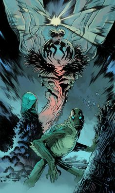EVOLUTION OF ABE SAPIEN with Joe Q by BrandNewNostalgia.deviantart.com on @deviantART
