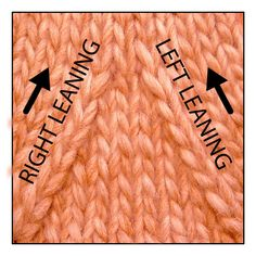 """Purl decreases: p2tog, p2tbl, ssp The same way there are two versions of knit decreases, there are also two versions of purl decreases: the right-leaning and the left-leaning. *A purled decrease which slants RIGHT as seen from the front side of a stockinette fabric is not usually called a """"right leaning purled decrease."""" Instead, the decrease is named by its method of creation. In other words, these right leaning decreases are usually called """"purl 2 together"""" (usually abbreviated """"p2tog"""")..."""