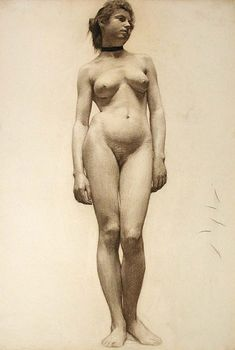 Female nude // Adolph Robert Schulz