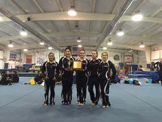Gymnastics 3-Peat Champions