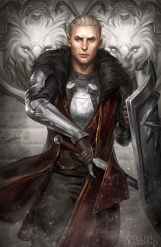 Dragon Age Fanart by Crystal Graziano.