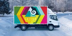"""Lavina Production"" - логотип для продакшн-студии. Дизайнер - Ольга Шу. #логотип #лавина #продакшн #видеостудия #видео #lavina #avalanche #production #video #videography #logo #лого #дизайн #design #logodesign #logotype #tailroom #inspiration #mountain #гора"