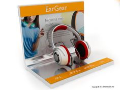 Expositor Philips auriculares   INNOVACION PLV