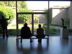 Kroller Muller Museum in the Der Hoge Veluwe National Park, Netherlands