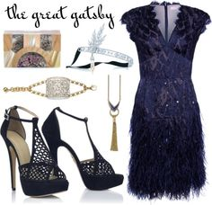 """My Great Gatsby-Themed Outfit"" by leiastyle on Polyvore"