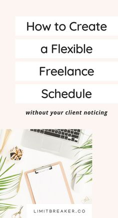You can create a flexible freelance schedule for your business. In fact, it's easy to do with these 5 tips. #freelancetips #freelance #dailyroutine #workfromhome #remoteworking How Do You Work, Way To Make Money, Creative Business, Business Tips, Home Based Jobs, Finding Motivation, I Know You Know, Work From Home Tips, Lessons Learned