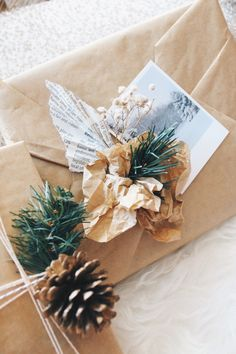 Vintage inspired Christmas Wrapping Ideas