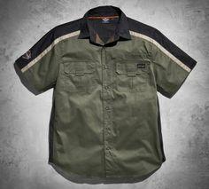 Men's Sleeve Patch Performance Shirt