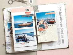 Mini Albums Scrapbook, Diy Scrapbook, Scrapbooking, Illustration, Creations, Blog, Julie, Collection, Digi Stamps