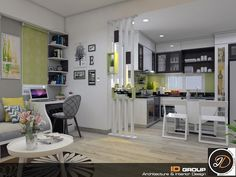 Room Partition Designs, Duplex House Design, Living Room Designs, Interior, Table, Furniture, Home Decor, Decoration Home, Indoor