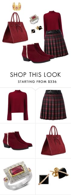 """red light camera"" by inspiredbyart345 ❤ liked on Polyvore featuring Proenza Schouler, Giamba, Mansur Gavriel, Emma Chapman and Madyha Farooqui"