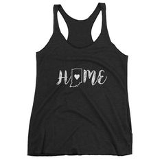 Indiana Tank Top Indiana State Pride Shirt Home by RoselynnsCo
