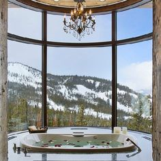 60 Most incredible bathrooms with breathtaking views! (image via Locati Architects)