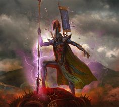 ArtStation - Dire Avenger Exarch, Alexandr Elichev
