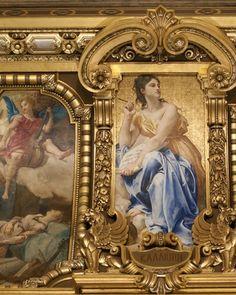 Ceiling Detail, Opera Garnier (Georgianna), Paris France