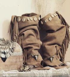 Boho sandal wild spirit www.apachestyle.es Handmade 100%