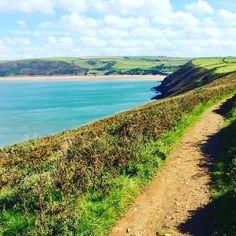 Putsborough, from Baggy Point coastal path Beautiful Places To Visit, Beautiful Beaches, Devon Beach, Bristol Channel, Devon And Cornwall, North Devon, Beach Shack, Dartmoor, Rock Pools