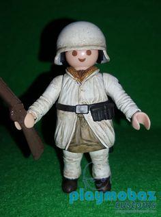 PLAYMOBIL Aleman Infanteria Invierno 1942-45