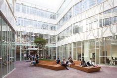 Universidad de Leiden,Cortesía de Mecanoo