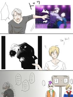 Read ❤️ 67 ❤️ from the story Doujinshis de Yuri! on ice by karedkagundersen (Jefferson Gutierritos) with reads. Otaku Anime, All Anime, Anime Love, Manga Anime, Anime Guys, Desenhos Love, Yuri On Ice Comic, ユーリ!!! On Ice, Mini Comic