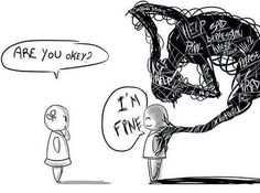 This actually hurts to look at, when I say I'm fine I'm really not. I can just hid my pain a lot better then others.