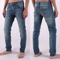 Christmas gift for your boyfriend; 2014 new desgin man jeans pants; man jeans fashion:702-2001 www.italymorn.com