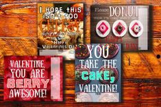 Printable valentines for kids valentine card, children's valentines, class party, foodie gift, funn Valentines For Kids, Funny Valentine, Printable Valentine, Valentine Cards, Valentine's Day Printables, Printable Cards, Free Printable, Birthday Party Menu, Valentine's Cards For Kids