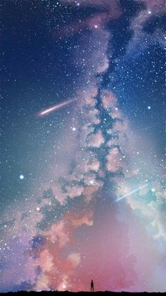 Ideas Wall Paper Iphone Galaxy Stars Cosmos For 2019 Beautiful Sky, Beautiful Landscapes, Art Galaxie, Galaxy Background, Cartoon Background, Glitter Background, Galaxy Art, Galaxy Painting, Galaxy Space