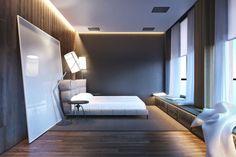 Awesome Bedroom Ideas For Guys - Best Men's Bedroom Ideas: Cool Masculine Bedroom Decor, Designs and Styles For Guys Men's Bedroom Design, Boys Bedroom Decor, Bedroom Wall, Bedroom Ideas, Bedroom Colors, Master Bedroom, Awesome Bedrooms, Beautiful Bedrooms, Modern Mens Bedroom