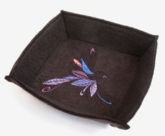 Decorative Felt Box - Unique and Awesome Embroidery Designs - Tutorials | Urban Threads: