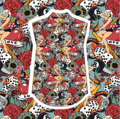 Please vote for this entry in Design Your Own Shirt With Front Row Society!!