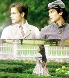 The Salvatore brothers and Ms. Katherine