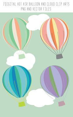 Paper birthday background with colored balloons vector | Clip art ...
