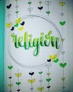 Front Page Design, Bullet Journal School, School Notes, School Decorations, Zentangle, Motivational Quotes, Religion, Doodles, Study