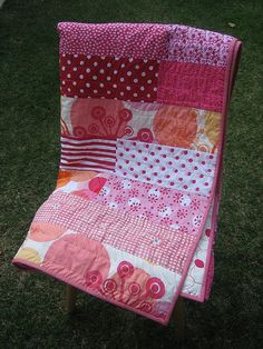 Easy quilt from flickriver. Bend the rules sewing.