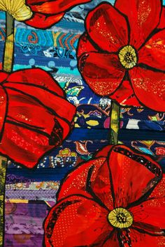 New Directions by Suzanne Gummow. 2013 exhibit, Australian Quilt Convention.