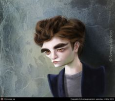 Edward Feeling Guilty by Somaya Alshehri | 2D | CGSociety
