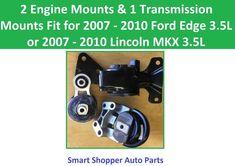 Motor /& Trans Mount 2PCS Set Fit 2003-2008 Hyundai Tiburon 2.7L for Auto Trans