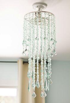 Urban Outfitters tier cascade faux chandelier