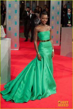 Lupita Nyong'o - BAFTAs 2014 Red Carpet | lupita nyongo 2014 baftas red carpet 03 - Photo