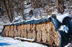 Afbeeldingsresultaat voor firewood stack