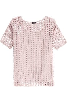 Here is the pattern of a very simple crochet top by Akris. Pattern Skill Level: … Here is the pattern of a very simple crochet top by Akris. You will receive: – detailed instructions in English T-shirt Au Crochet, Mode Crochet, Crochet Motifs, Crochet Shirt, Single Crochet Stitch, Crochet Stitches Patterns, Crochet Patterns For Beginners, Knitting Patterns, Beginner Crochet