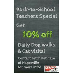 Contact Fetch Pet Care of Naperville  #dailydogwalks #catcare #dogwalker #napervilledog #naperville #backtoschool