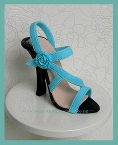 Blue Heel ~ Heel Shoe Fetish!