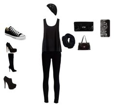 """dark princess"" by cdanielson99 ❤ liked on Polyvore featuring J Brand, Forever New, Steve Madden, Sam Edelman, Hollister Co., Brian Atwood, Converse, Cole Haan, GUESS and Triple C Designs"