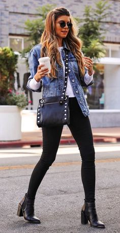 dcdca2b690f 178 Best Denim jacket outfit images in 2019
