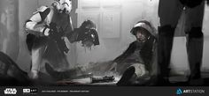 ArtStation - ILM Art Department Challenge // The Moment, Morgan Yon