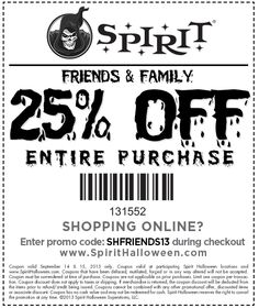 save on something spooky from spirithalloween crafting pinterest spirit halloween coupons and store